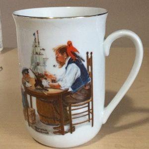 Norman Rockwell Mug For A Good Boy.
